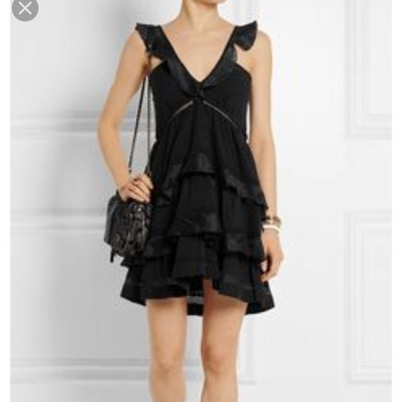 7aafa4c4e77 Isabel Marant Dresses   Skirts - Isabel Marant Etoile Casey V-Neck Mesh- Inset
